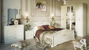 Фото  ТриЯ-Спальня «Лючия» (Штрихлак)