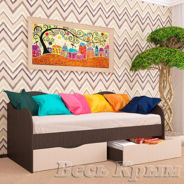 Пирамида-Кровать с ящиками 90/2 БОКС Кровати для спален в Крыму