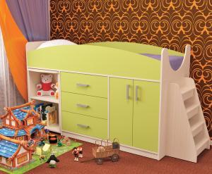 Фото  Пирамида-Кровать детская РОКСИ