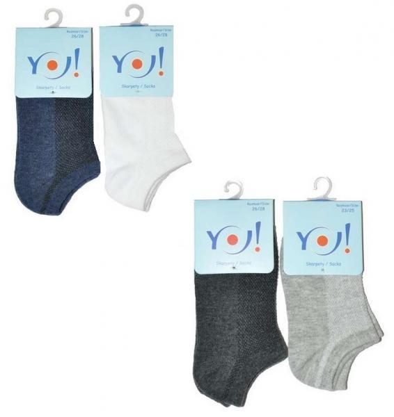 Детские носки для мальчиков SKARPETY YO! SK-27 AZUR BOYS 31-39 Детское белье и одежда Польша