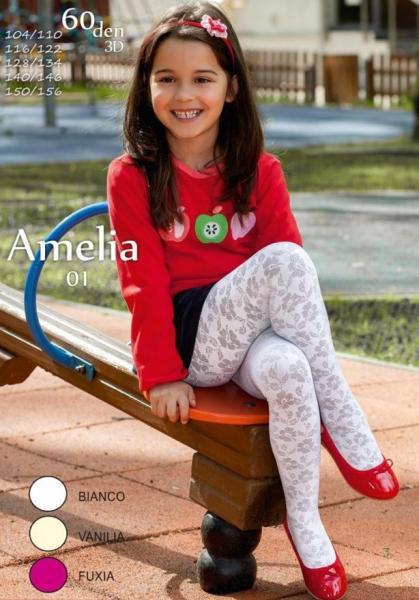 Колготы детские 60 DEN RAJSTOPY MONA DZ AMELIA 01 60 Детское белье и одежда Польша