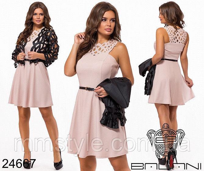 Вечернее платье-двойка - 24667