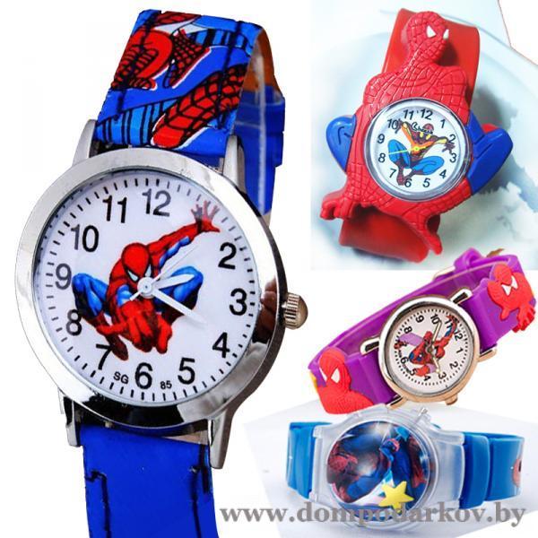 Фото ПОСМОТРЕТЬ ВЕСЬ КАТАЛОГ, Хиты продаж / Топ, Часы Хит Часы детские SG Spiderman