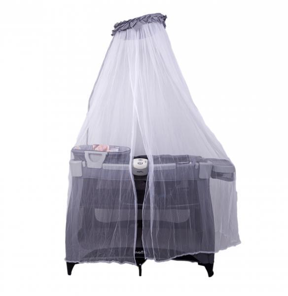 Evenflo® Ліжко-манеж 4в1 дитячий Vill4 – бежевий (E7BK)