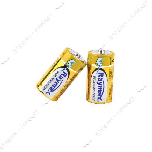 Батарейка Raymax щелочная C/LR14 ('средний бочонок') (уп.2 шт. цена за уп.) блистер