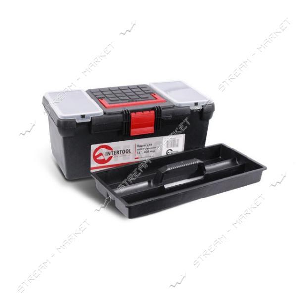 INTERTOOL BX-0016 Ящик для инструмента 16' (396*216*164 мм)