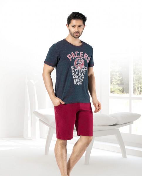 Мужской комплект футболка и шорты MISS TIKO