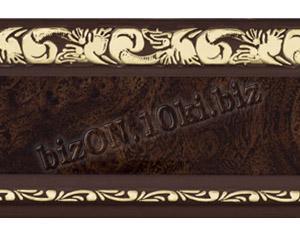 Бленда   Ажур «Африканский Корень», ширина = 7 см, Декоративная лента для потолочного карниза