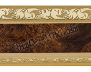 Бленда   Ажур «Африканский Корень Бежевый», ширина = 7 см, Декоративная лента для потолочного карниза