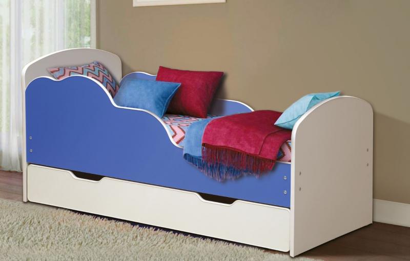 Фото Детская мебель Кровать детская Облака №2 1,6м  (Матрица)