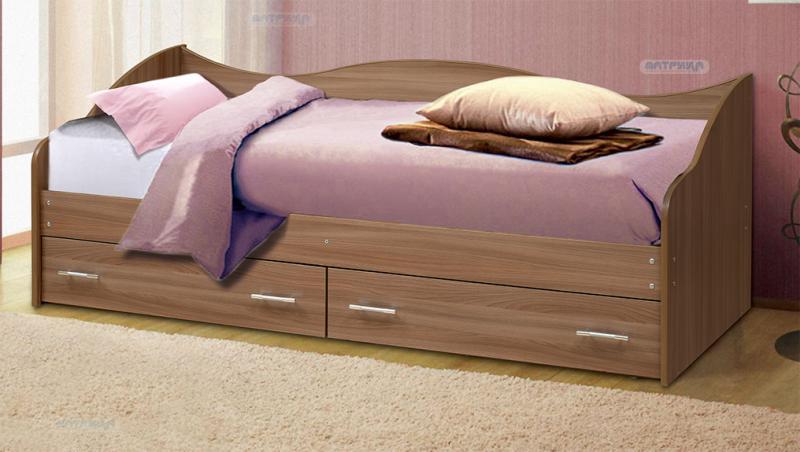 Фото Детская мебель Кровать Софа №1 (Матрица)