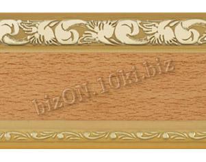 Бленда   Ажур «Бук», ширина = 7 см, Декоративная лента для потолочного карниза