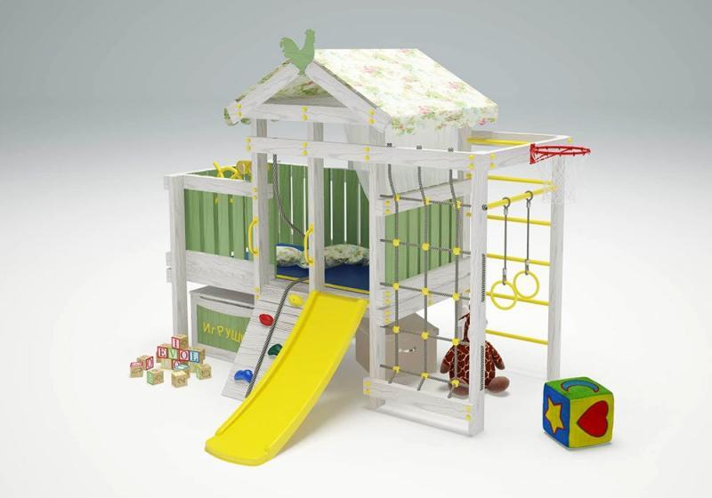 Детский комплекс - кровать Бэби 3