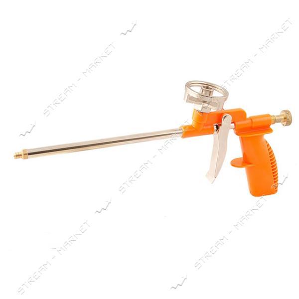 Пистолет для монтажной пены MASTERTOOL 81-8674 290мм пластиковый корпус маталлический балоноприемник