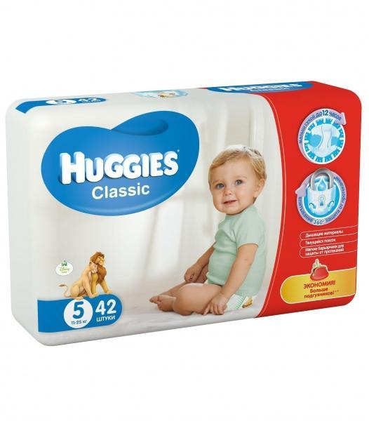 Подгузники Huggies 5 Classic