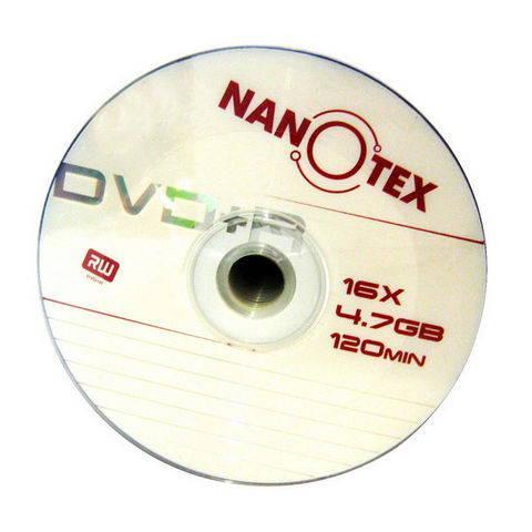 DVD+R Nanotex 4,7Gb 16x bulk (50) /Код 946