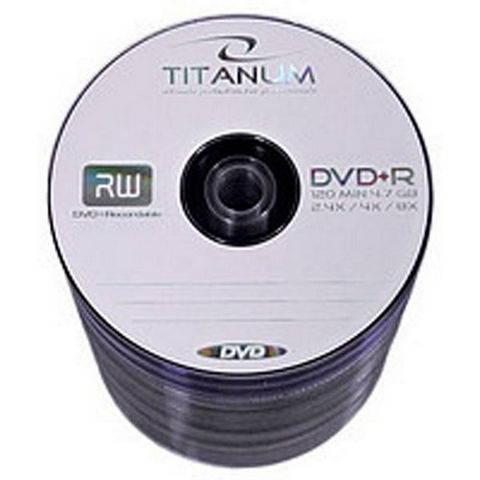 DVD+R Titanum 4,7Gb 16x bulk (50) /Код 308