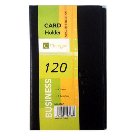 Визитница 120 визиток 3шт на лист /Код 2976