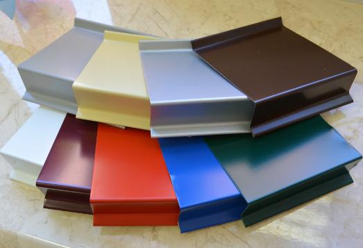 Водовідлив металевий оцинкований з полімерним покриттям(кольоровий)