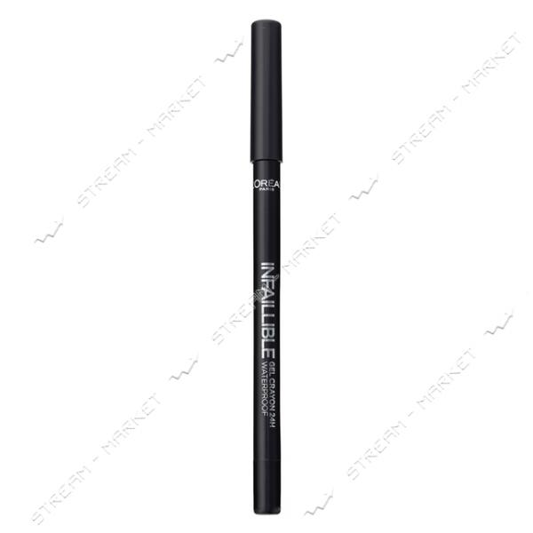 "Карандаш для глаз L""Oreal Paris Infallible 01 Гелевый черный 0.9г"