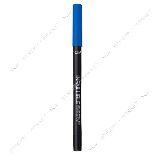 "Карандаш для глаз L""Oreal Paris Infallible 10 Гелевый синий 0.9г"