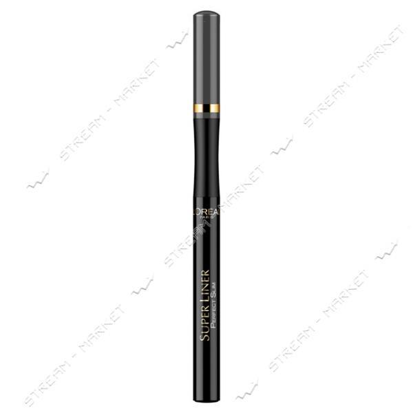 """Подводка-маркер для глаз L""""Oreal Paris Super Liner Perfect Slim серая 1 мл"""