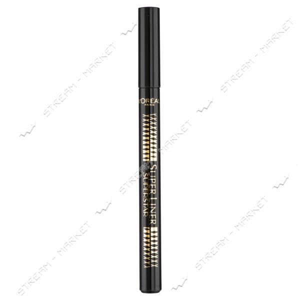 """Подводка-маркер для глаз L""""Oreal Paris Super Liner Superstar черная 1мл"""