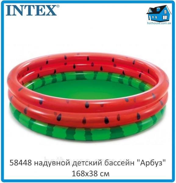 "Надувной бассейн ""Арбуз"" Intex 58448"