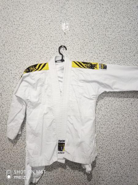Кимоно для единоборств 130-140 погон