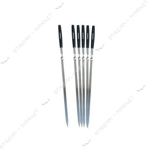 Forester Набор шампуров с деревянными ручками 55см