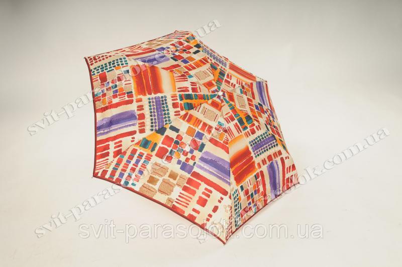 Женский зонт Zest 55517-116  micro механика 5 сложений