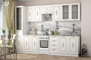 Кухня Велес сандал белый (ВВР)