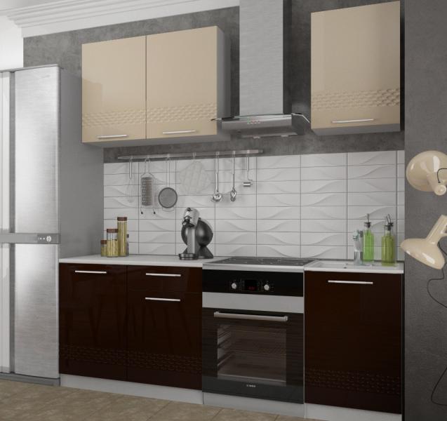 Фото Кухни модульные Кухня Капля кофе с молоком (ДСВ)