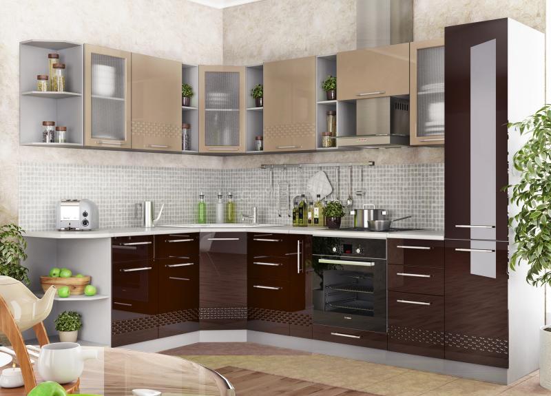 Кухня Капля шоколад/кофе с молоком (ДСВ)