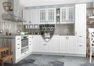 Кухня Гранд белый (ДСВ)