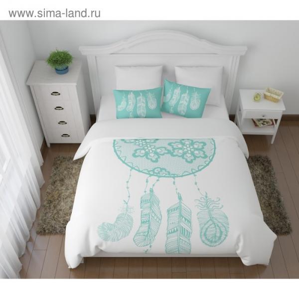 КПБ «Тайны сна» евро, размер 220 × 240 см, 200 × 220 см, 50 × 70 см-2 шт