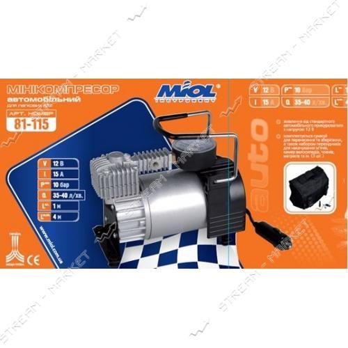 Miol 81-115 Миникомпрессор безмасл. автомобильный