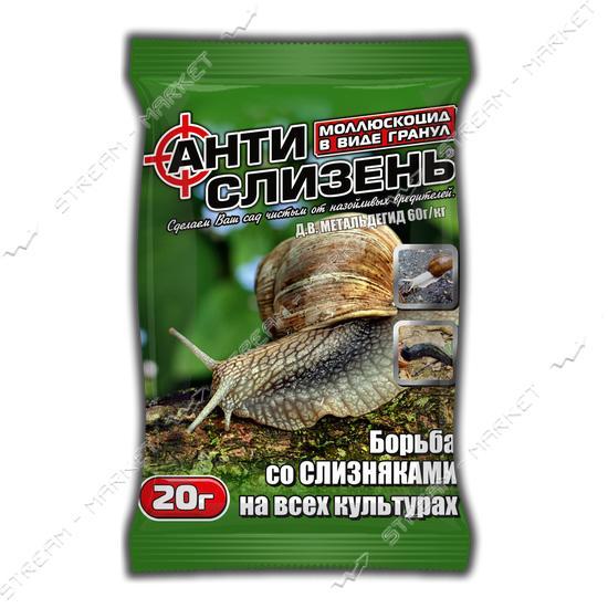 Антислизень АГРОМАКСИ 20г на 10кв.м