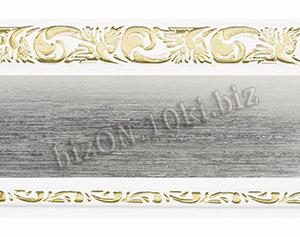 Бленда   Ажур «Сатин», ширина = 7 см, Декоративная лента для потолочного карниза