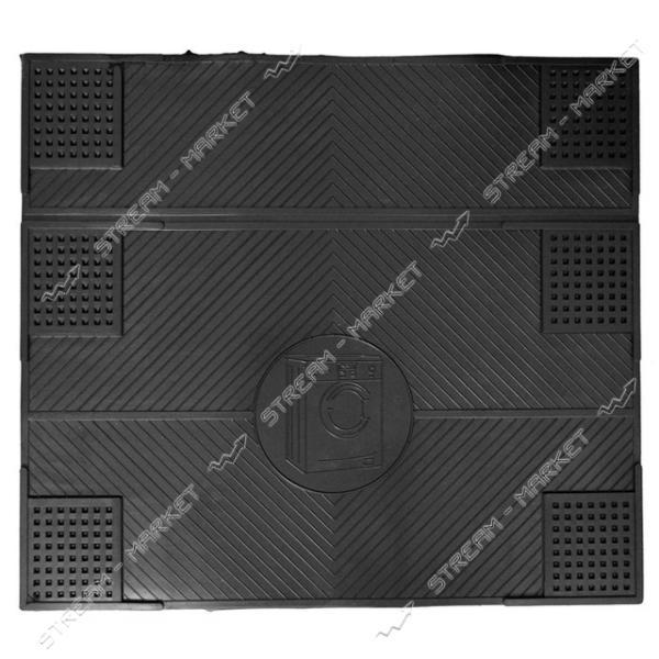 Коврик противовибрационный под стиральную машину 55х62см черный