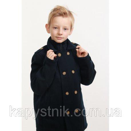 Пальто темно-синее для мальчика Minoti (Англия) р.98-158