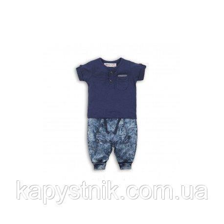 Летний комплект от Babaluno (футболка и джинсы). Размеры: 80,86,92