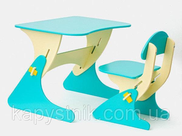 SportBaby Парта детская растущая со стулом