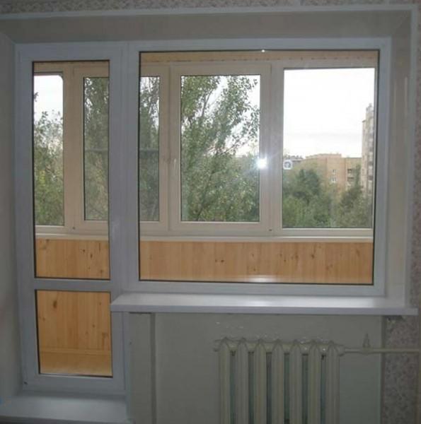 Балконний блок розміром 1700*2100