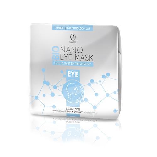 Маска бионаноцеллюлозная для кожи вокруг глаз с активатором, содержащим EYELISS® ТА HALOXYL®