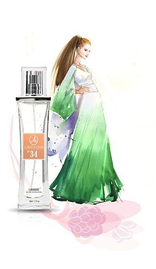 Парфюмерная вода Lambre №34 50 ml