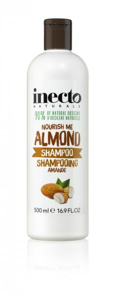 Питательный шампунь для волос с маслом миндаля 500 мл