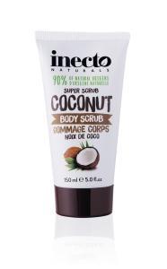 Фото Косметика по уходу за телом Lambre, Бальзамы и кремы для тела Скраб для тела разглаживающий Inecto Naturals Coconut Body Scrub 150 ml