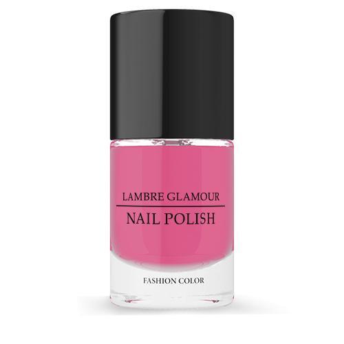 Лак для ногтей LAMBRE GLAMOUR NAIL POLISH №04 Розовый 10 ml
