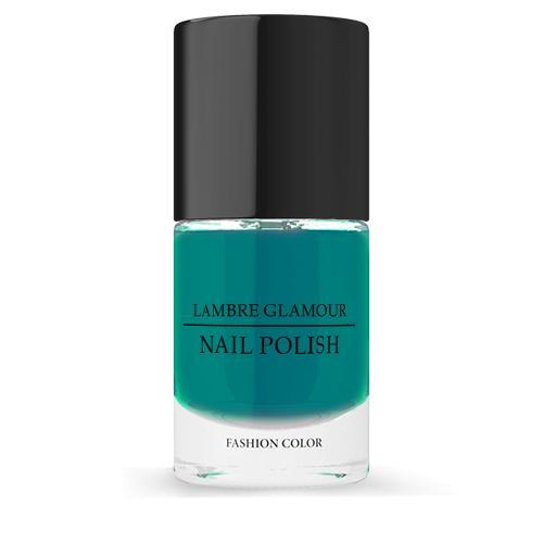 Лак для ногтей LAMBRE GLAMOUR NAIL POLISH №10 Темно-зеленый 10 ml